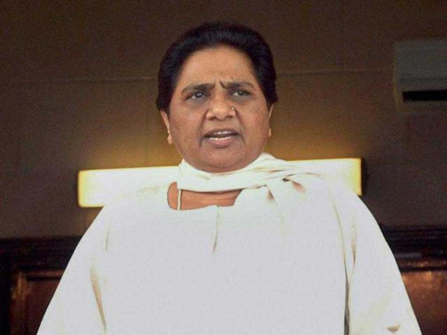 BSP-supremo-Mayawati-addresses-a-press-conference-at-her-residence-in-Lucknow-after-the-Supreme-Court-quashed-a-CBI-probe-against-her-in-a-disproportionate-asset-case-PTI-Nand-Kumar