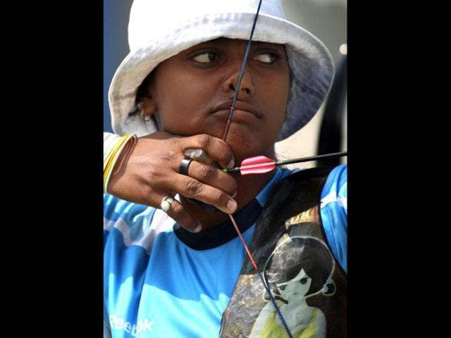 Deepika-Kumari-18-She-hails-from-Jharkhand-and-secured-the-Olympic-quota-berths-by-clinching-team-silver-in-the-World-Championships-in-Turin-last-year-She-is-currently-world-ranked-number-1