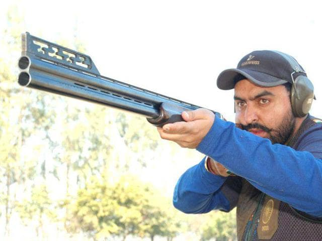 Ronjan Sodhi,men's double trap shooting,London Olympics