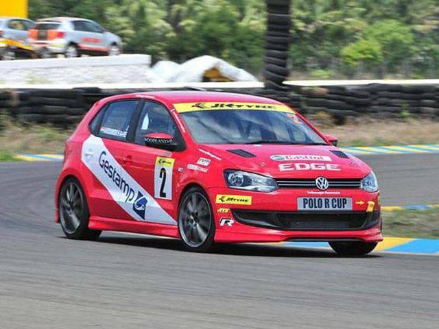 Former-karting-star-Avdumber-Hede-took-pole-position-for-the-VW-Polo-R-Cup-race-at-the-Kari-Motor-Speedway-in-Coimbatore-Pic-courtesy-Volkswagen