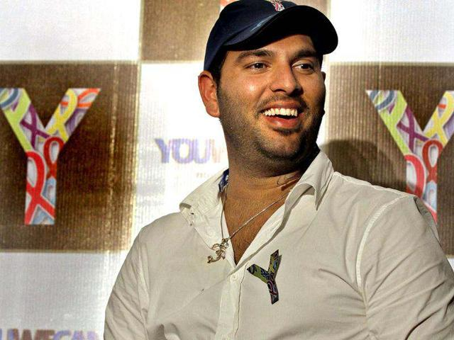 Cricketer-and-cancer-survivor-Yuvraj-Singh-talks-to-journalists-during-a-YouWeCan-event-for-the-Yuvraj-Singh-Cancer-Foundation-in-New-Delhi-HT-Virendra-Singh-Gosain