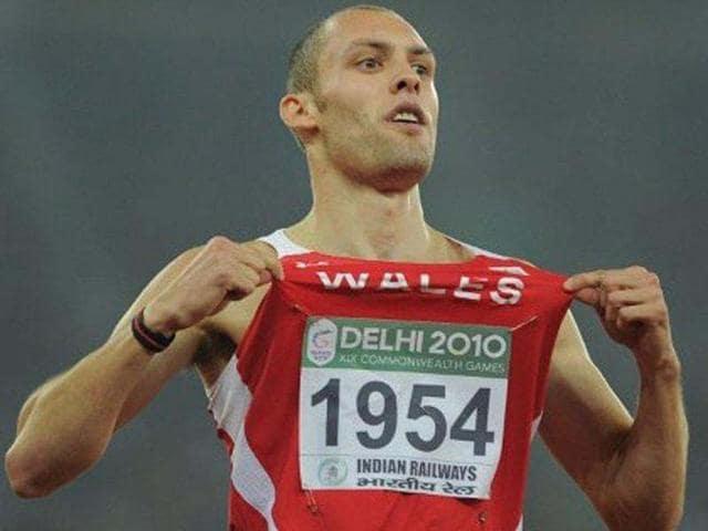 London,Welsh 400-meter hurdler,Dai Greene