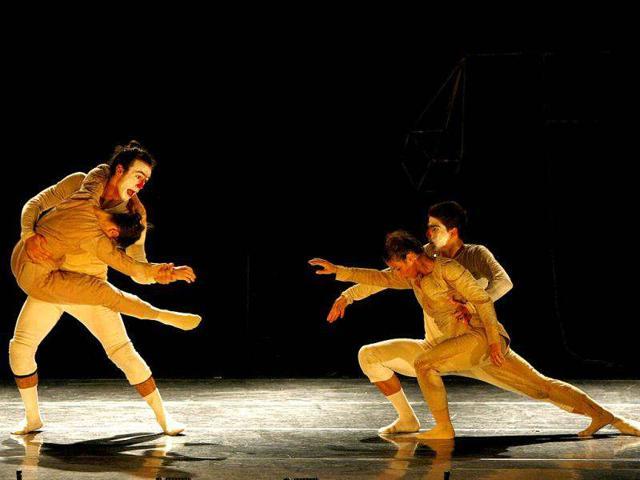 Dancers-performing