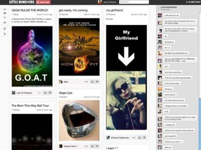 Lady-Gaga-s-social-network-opens-to-the-public