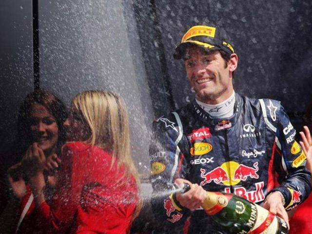 f524bd85666 Red-Bull-Racing-s-Mark-Webber -got-an-additional-dose-of-good-news-after-his-British-GP-win-as-Red-Bull- Racing-extended-his-contract-till-the-end-of-2013- ...