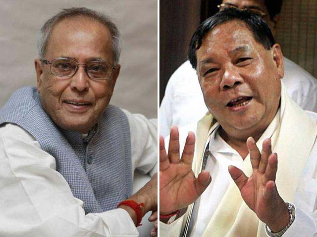 A-combination-picture-shows-Presidential-candidates-Pranab-Mukherjee-and-PA-Sangma