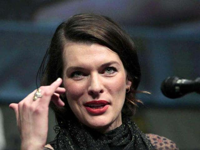 Model-actor Milla Jovovich,I feel like movie stars don't have many friends at all. They have acquaintances