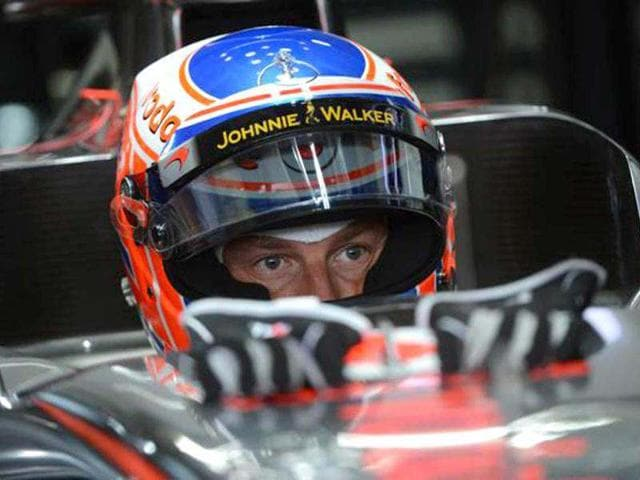 Jenson-Button-topped-the-times-during-a-rain-effected-first-practice-session-at-the-Hockenheimring-on-Friday-AFP-Photo