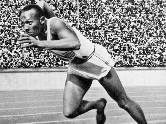 Jesse-Owens-gets-off-the-blocks-during-a-race-at-the-Berlin-Olympics-in-1936-Owens-collected-a-rich-haul-of-four-gold-medals-at-the-Games-The-effort-earned-him-recognition-from-German-dictator-Adolf-Hitler--Getty-Images