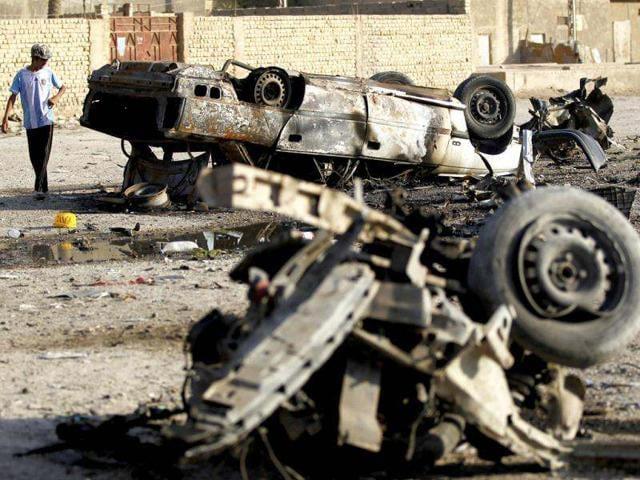 Iraq car bombs,Iraqi capital,Khilani Square