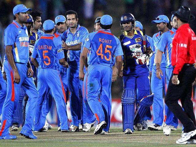 Sri-Lanka-s-Dinesh-Chandimal-shakes-hands-with-members-of-India-s-cricket-team-after-Sri-Lanka-won-the-second-one-day-international-ODI-cricket-match-in-Hambantota-Reuters-Dinuka-Liyanawatte