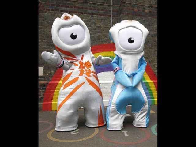 London Olympics,Olympics mascots,Wenlock