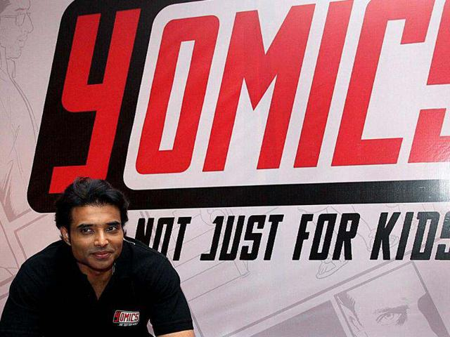 Bollywood-film-actor-Uday-Chopra-poses-during-the-unveiling-of-Yomics-at-YFR-Studio-in-Mumbai-on-July-24-AFP-photo