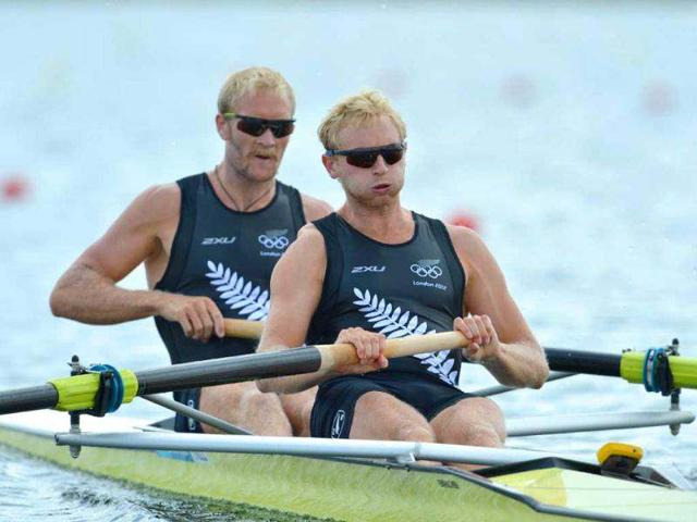 New-Zealand-s-Eric-Murray-R-and-Hamish-Bond-compete-in-the-men-s-pair-heat-1-of-the-rowing-event-during-the-London-2012-Olympic-Games-at-Eton-Dorney-Rowing-Centre-in-Eton-west-of-London-AFP-Eric-Feferberg