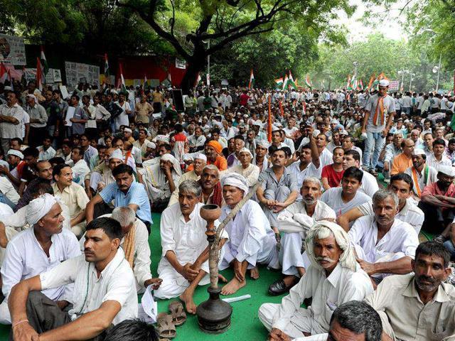 Moga,Safai union leader,hunger strike