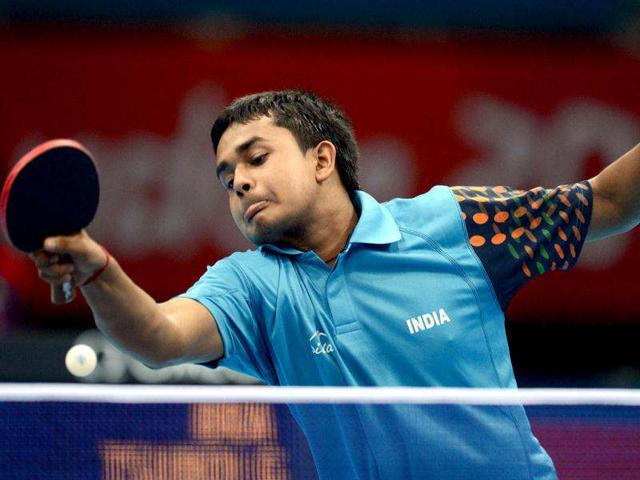 India-s-Soumyajit-Ghosh-serves-to-Brazil-s-Gustavo-Tsuboi-during-a-table-tennis-men-s-singles-preliminary-round-match-of-the-London-2012-Olympic-Games-at-the-Excel-centre-in-London-AFP-Photo