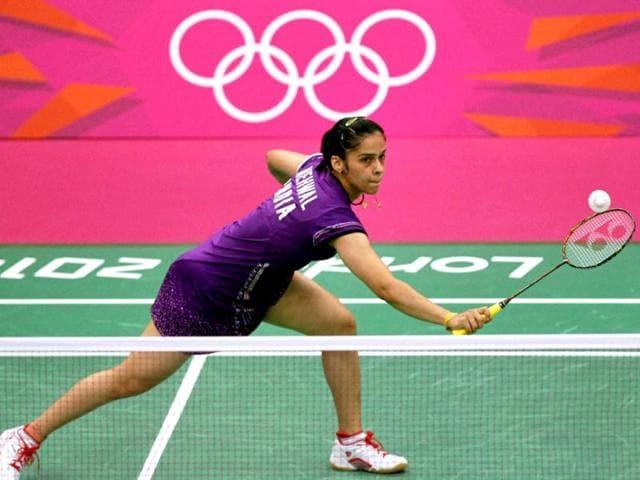India-s-Saina-Nehwal-returns-a-shot-to-Swizerland-s-Sabrina-Jaquet-during-Women-s-Singles-badminton-match-of-the-2012-Summer-Olympics-in-London-PTI-Manvender-Vashist