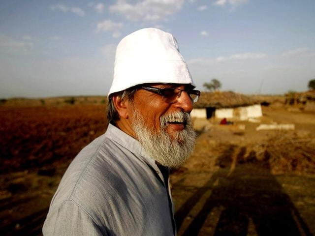 Prof-Anil-Gupta-in-Nayapura-village-in-Sehore-district-of-MP-He-has-documented-25-000-rural-innovations