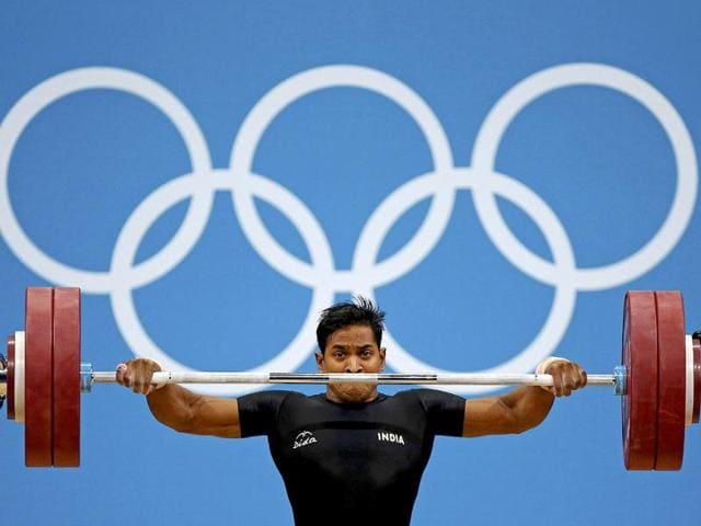 Ravi-Kumar-Katulu-competes-on-the-men-s-69Kg-Group-B-weightlifting-competition-at-the-London-2012-Olympic-Games-Reuters-Paul-Hanna