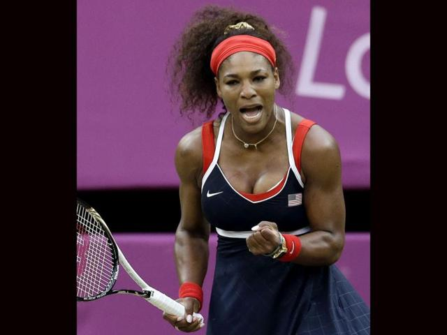 Serena-Williams-of-the-United-States-reacts-during-her-match-against-Vera-Zvonareva-of-Russia-at-the-All-England-Lawn-Tennis-Club-in-Wimbledon-London-at-the-2012-Summer-Olympics-AP-Elise-Amendola