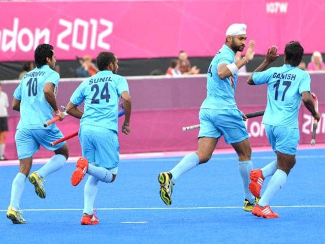 Indian hockey team,london olympics,olympic games