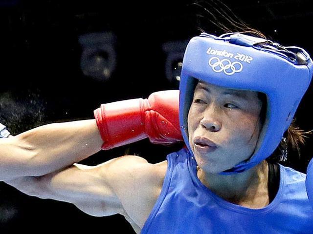 Mary Kom,Nicola Adams,london olympics