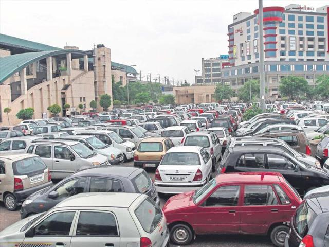 This-year-seven-cases-of-vehicle-thefts-have-been-reported-from-northwest-Delhi-s-Rithala-police-station-which-covers-four-Metro-stations-including-the-Rohini-West-station-in-picture--Jasjeet-Plaha-HT-photo
