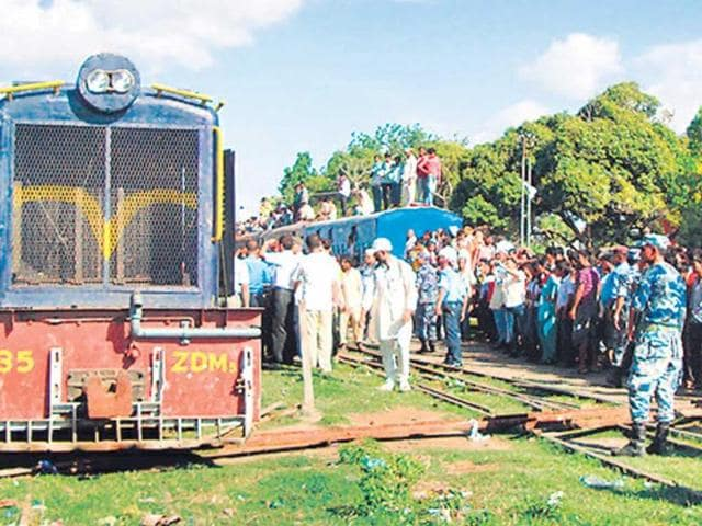 The-train-was-halted-with-the-help-of-obstructions-Kathmandu-Post