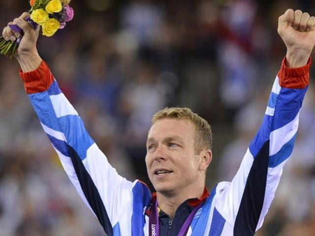 Chris Hoy,Velodrome,London Olympics