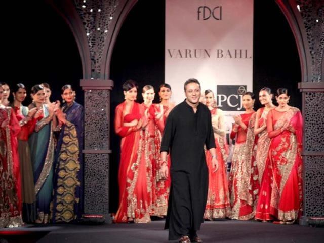 Varun Bahl,Nouveau (new) collection,Delhi Couture Week