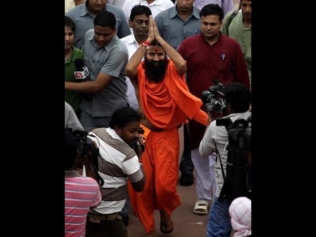 Ramdev,yoga guru,blackmoney