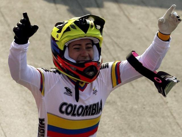 Colombia,Mariana Pajon,Olympic BMX