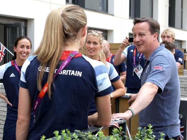 London,Prime Minister David Cameron,successful Olympics