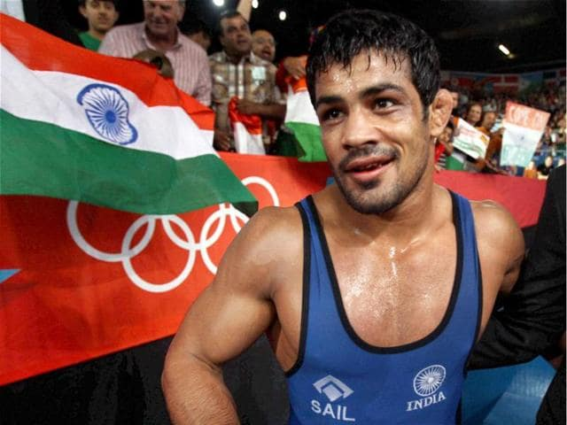 Sushil-Kumar-of-India-reacts-after-his-match-against-Akzhurek-Tanatarov-of-Kazakhstan-in-their-66-kg-freestyle-wrestling-match-at-the-2012-Summer-Olympics-in-London-AP-Paul-Sancya
