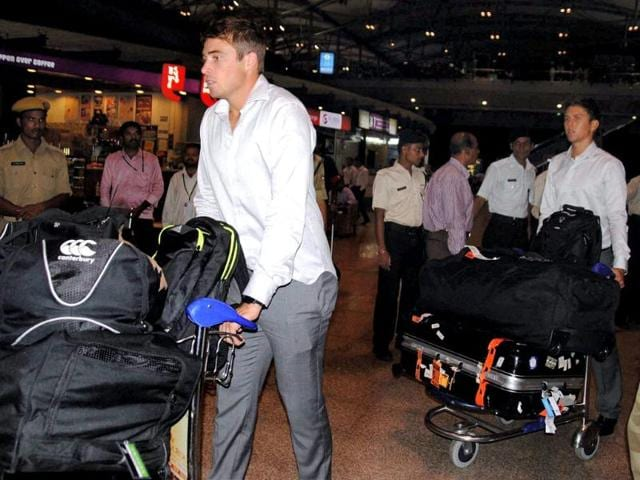 New-Zealand-cricket-team-players-on-their-arrival-at-Rajiv-Gandhi-International-airport-in-Hyderabad-PTI-photo