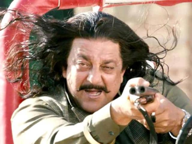 Actor Sanjay Dutt in a still from Son of Sardaar