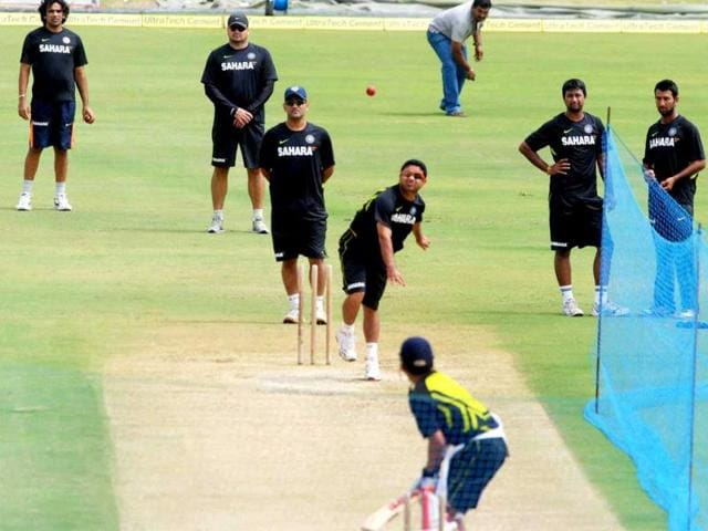 Indian-cricketers-during-a-practice-session-at-Rajiv-Gandhi-International-Cricket-Stadium-in-Hyderabad-PTI-photo