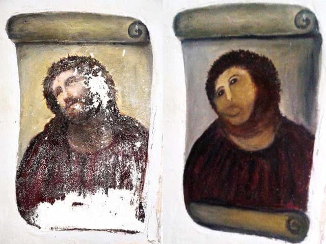 Fresco fiasco,Ecce Homo,Elias Garcia Martinez