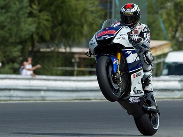 Jorge Lorenzo,Czech Republic MotoGP,hindustantimes