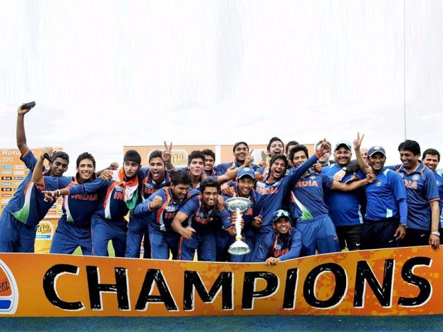 Indian-players-celebrate-their-victory-over-Australia-in-the-the-2012-ICC-U19-Cricket-World-Cup-final-in-Townsville-Australia-AP-Photo-International-Cricket-Council-Ian-Hitchcock