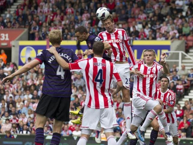 Stoke City,Arsenal,Premier League