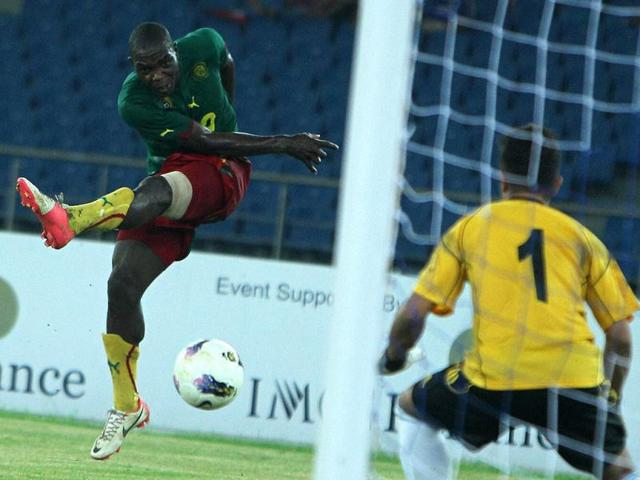Cameroon-s-Kologny-Vigny-Merime-19-takes-a-shot-agianst-Nepal-during-the-Nehru-Cup-match-in-New-Delhi-PTI-Photo-Vijay-Verma