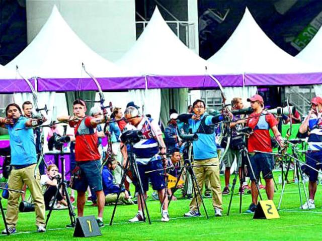 Indian-men-in-action-at-Lord-s-during-the-London-Olympics-None-of-the-six-archers-could-live-up-to-expectations-Getty-images