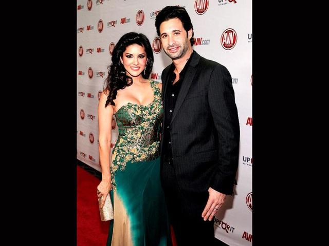 Sunny-Leone--with-her-husband-cum-manager-Daniel-Weber