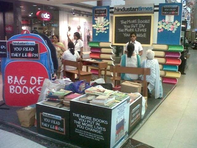 news,hindustan times,bag of books