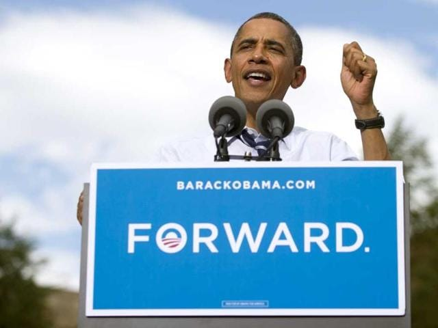 US-President-Barack-Obama-speaks-during-a-campaign-event-at-Colorado-State-University-in-Fort-Collins-Colorado-AFP-Saul-Loeb