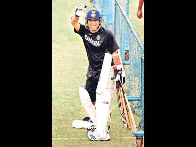 Sachin-Tendulkar-will-look-to-make-up-for-missing-out-in-Hyderabad-in-the-second-Test-in-Bangalore-HT-Gurpreet-Singh
