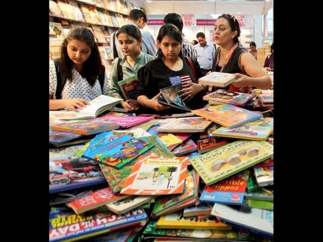 Delhi Book Fair,Pragati Maidan,Tejendra Khanna