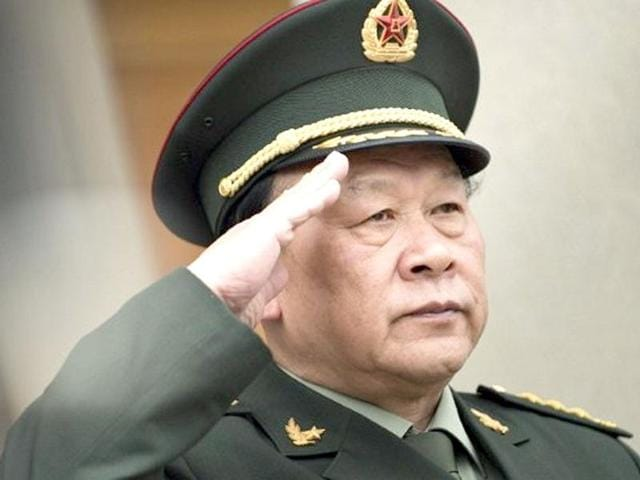 China defence minister