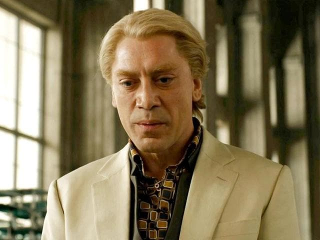 Spanish-actor-Javier-Bardem-is-seen-in-an-all-new-blonde-avatar-as-he-plays-villian-Raoul-Silva-in-the-film